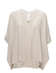 Textured knit cardigan - LT PASTEL BROWN
