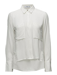 Mango - Pockets Flowy Shirt