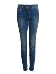 High-waist London jeans - Navy
