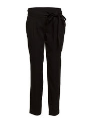 Baggy tencel trousers - Black