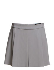 Pleated skirt - Lt pastel grey