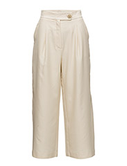 Pleat detail trousers - LIGHT BEIGE