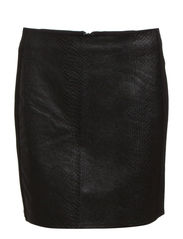 Snake pattern skirt - Black