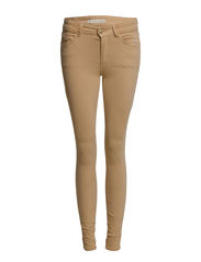 Lectra skinny jeans - Medium brown