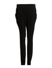 Flowy baggy trousers - Black