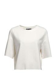 Boxy t-shirt - Natural white