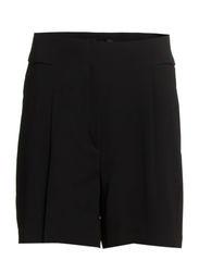 Rolled-up waist short - Black