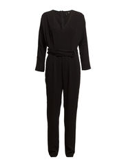 Hoops tencel jumpsuit - Black