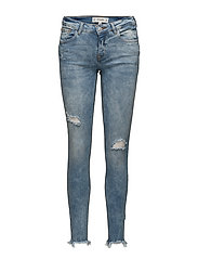 Kim skinny push-up jeans - MEDIUM BLUE