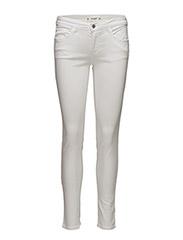 Kim skinny push-up jeans - WHITE