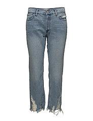 Sayana organic cotton straight jeans - OPEN BLUE