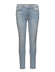 Olivia organic cotton skinny jeans - OPEN BLUE