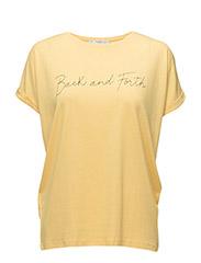 Message modal-blend shirt - YELLOW