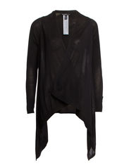 Waterfall cardigan - Black