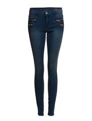 Skinny Zippy jeans - Medium blue