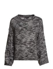Flecked sweater - Dark grey