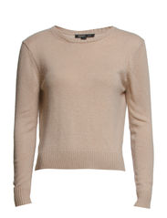 Alpaca-blend sweater - Light beige