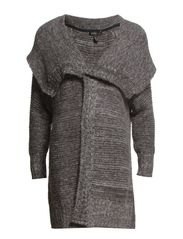 Flecked mohair-blend sweater - Dark grey