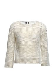 Crochet blouse - Natural white