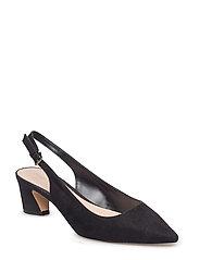 Slingback shoes - BLACK