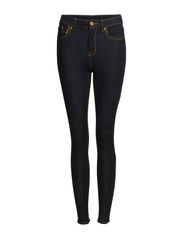 High waist jeans - Dark blue