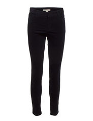 Slim-fit corduroy trousers - Navy