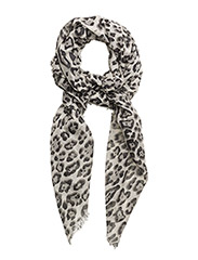 Animal print scarf - GREY