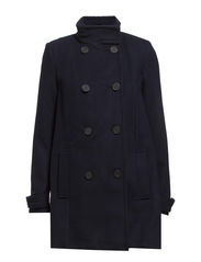 Double-breasted coat - Navy
