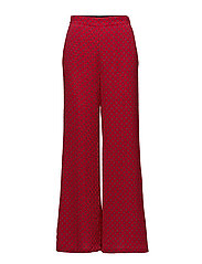 Printed culottes - RED