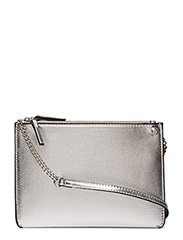 Metallic-effect clutch - SILVER