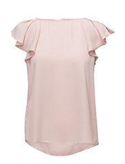 Ruffled sleeve blouse - PINK