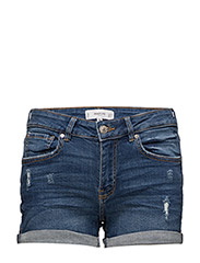 Medium denim shorts - OPEN BLUE