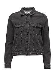Black denim jacket - OPEN GREY