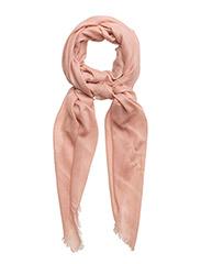 Textured scarf - LT-PASTEL PINK