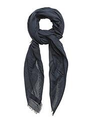 Textured scarf - NAVY