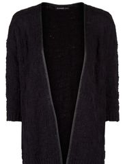 Trim cardigan - Black
