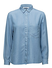 Pocket soft shirt - OPEN BLUE