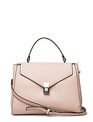 Flap tote bag - LT-PASTEL PINK