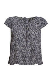 Cropped blouse - Navy