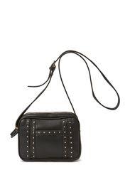 Stud cross-body bag - Black