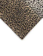 Leopard scarf - Dark brown