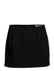 Pleated miniskirt - Black