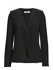 Waterfall structured jacket - Black