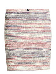Striped pattern skirt - Navy