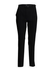 Crepe baggy trousers - Black
