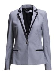 Striped suit blazer - Navy