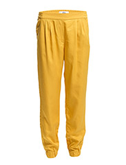 Baggy soft trousers - Medium yellow