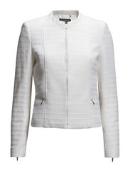 Textured jacket - Natural white