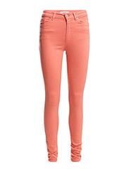 Skinny Brooklyn jeans - Lt-pastel orange
