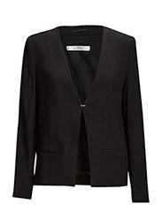 Hook fastening blazer - Black